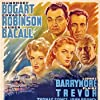 Lauren Bacall, Humphrey Bogart, Edward G. Robinson, Lionel Barrymore, and Claire Trevor in Key Largo (1948)