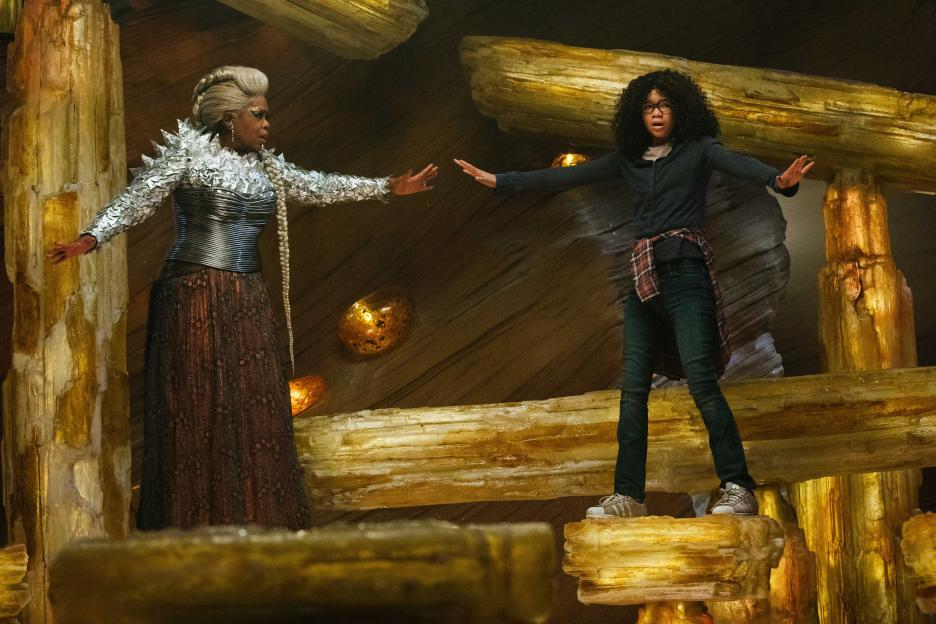 Oprah Winfrey and Storm Reid in A Wrinkle in Time (2018)