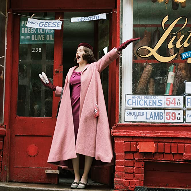 Rachel Brosnahan in The Marvelous Mrs. Maisel (2017)