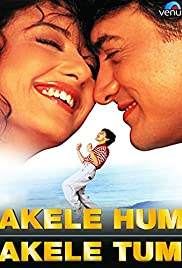Akele Hum Akele Tum(1995) Poster - Movie Forum, Cast, Reviews