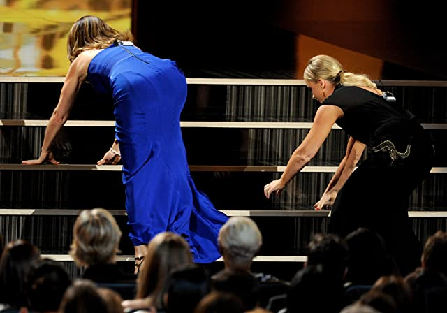Tina Fey and Amy Poehler at The 65th Primetime Emmy Awards (2013)