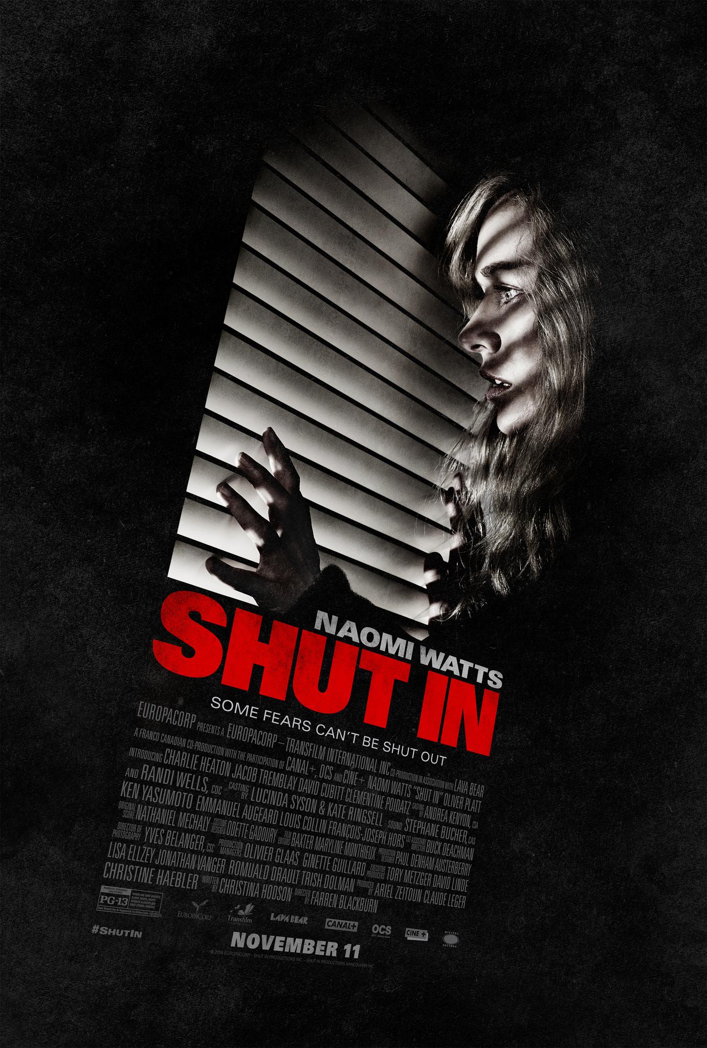 Shut In(2016) - Cartelera