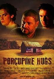 Porcupine Hugs Poster