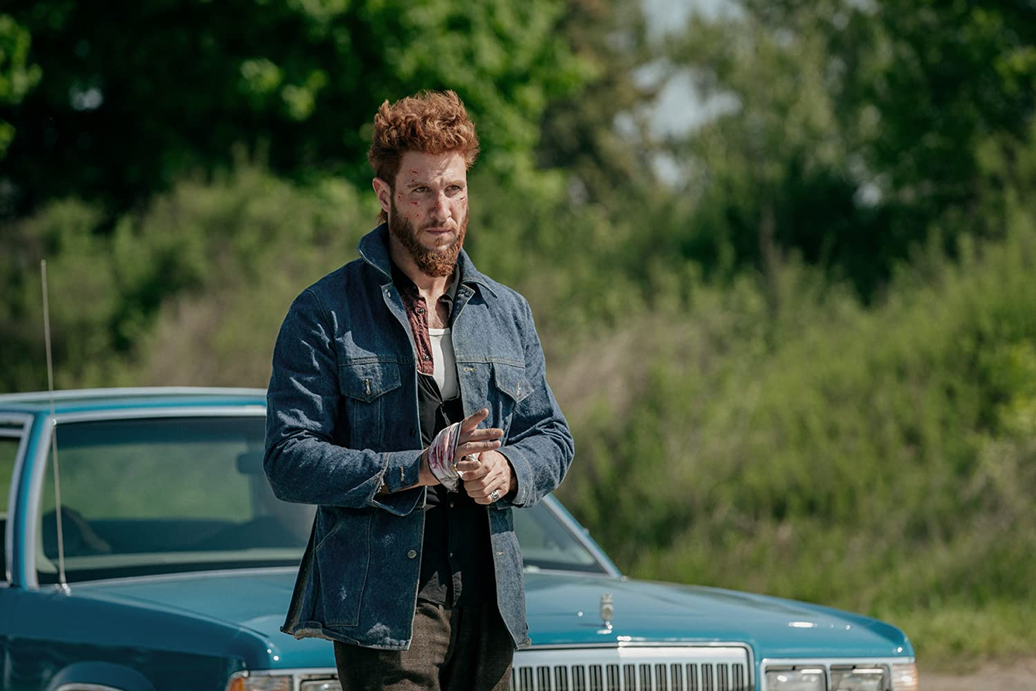 Pablo Schreiber as Mad Sweeney (American Gods)