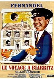 Le voyage à Biarritz Poster