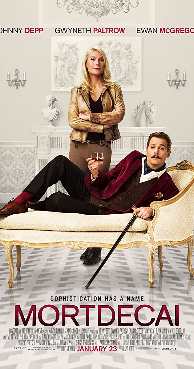Image result for Mortdecai