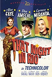 That Night in Rio Poster
