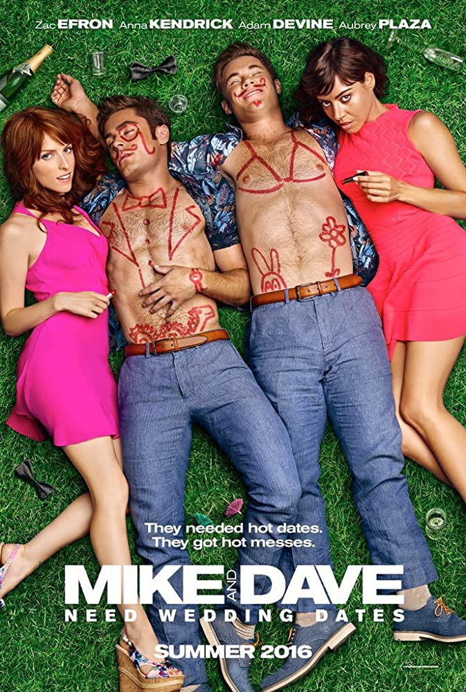 Mike and Dave Need Wedding Dates 2016 Dual Audio 720p BluRay x264 800MB