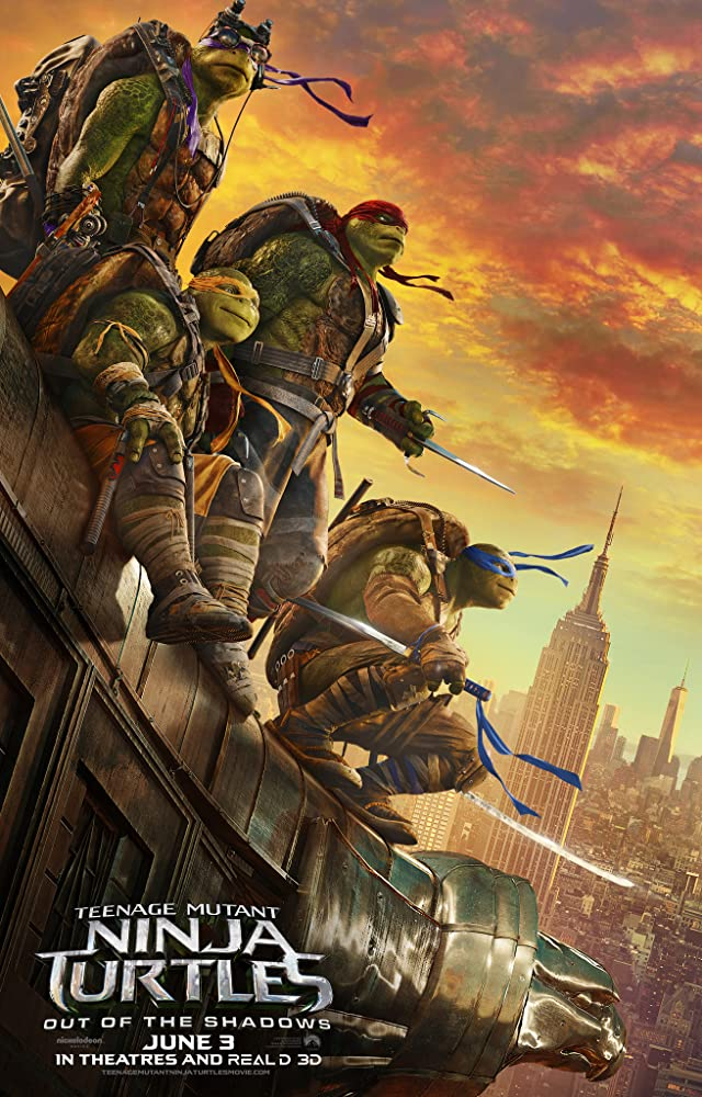 Teenage Mutant Ninja Turtles Out of the Shadows (2016) Dual Audio 720p BRRip Watch Online Free Download At Movies365