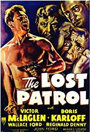 The Lost Patrol Poster