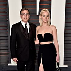 David O. Russell and Jennifer Lawrence at The 88th Annual Academy Awards (2016)