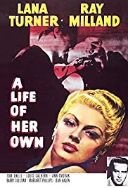 A Life of Her Own (1950) Poster - Movie Forum, Cast, Reviews