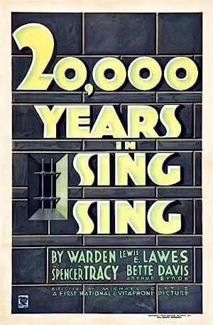 20,000 Years in Sing Sing poster