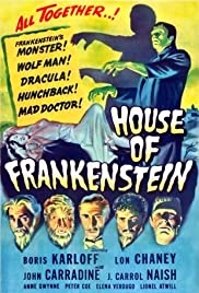House of Frankenstein (1944) Poster - Movie Forum, Cast, Reviews