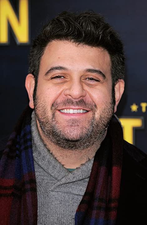 Adam Richman at an event for The Adventures of Tintin (2011)