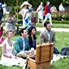 Paulo Costanzo, Mark Feuerstein, Brooke D'Orsay, and Reshma Shetty in Royal Pains (2009)