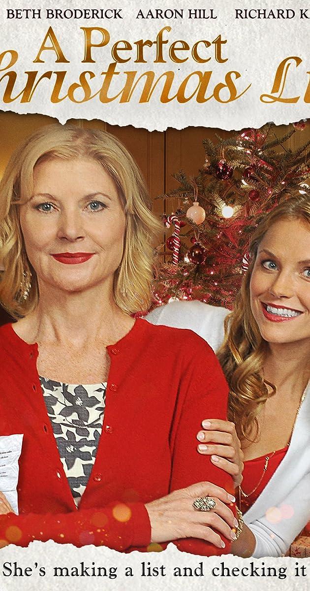 A Perfect Christmas List (TV Movie 2014) - IMDb