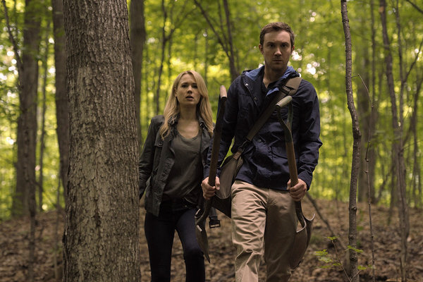 Sam Huntington and Kristen Hager in Being Human (2011)