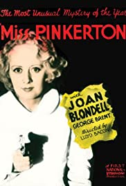 Miss Pinkerton (1932) Poster - Movie Forum, Cast, Reviews