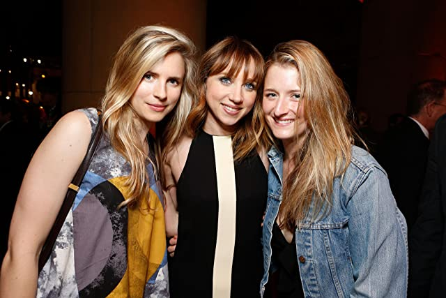 Zoe Kazan, Brit Marling, and Grace Gummer at an event for Ruby Sparks (2012)