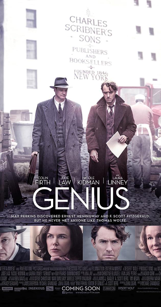 Genijus / Genius (2016) Online