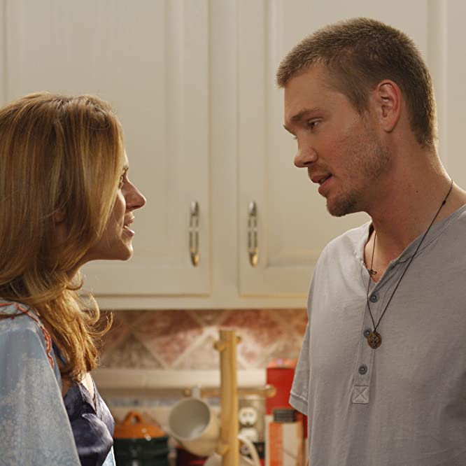 Chad Michael Murray and Hilarie Burton in One Tree Hill (2003)