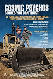 Cosmic Psychos: Blokes You Can Trust Poster