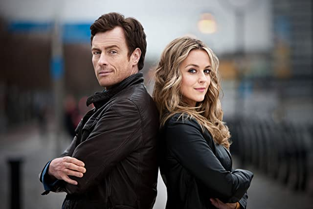 Toby Stephens and Miranda Raison in 'Vexed'.
