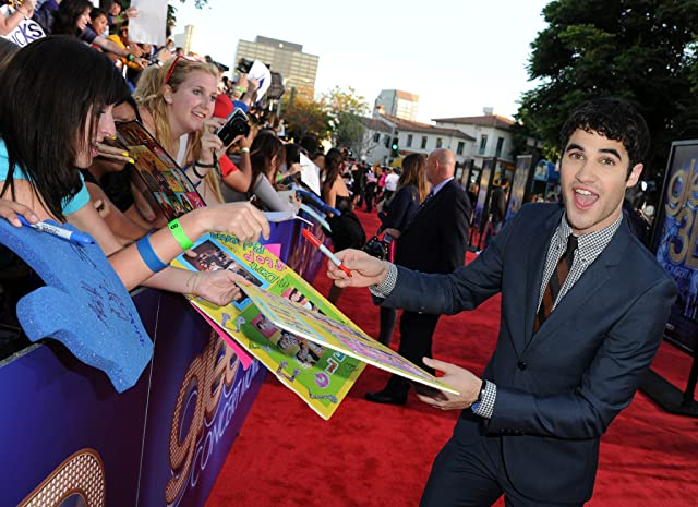 Darren Criss at an event for Glee: The 3D Concert Movie (2011)