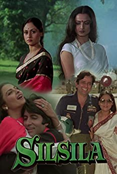 Amitabh Bachchan, Rekha, Shashi Kapoor, and Jaya Bhaduri in Silsila (1981)