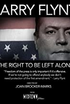 Primary image for Larry Flynt: The Right to Be Left Alone