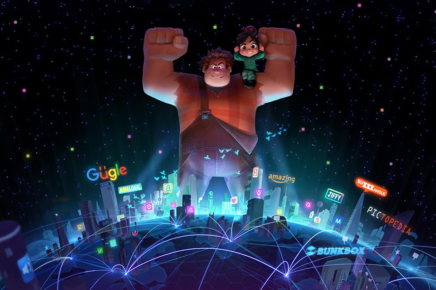 Ralph Breaks the Internet: Wreck-It Ralph 2 (2018), filme online subtitrat în Română