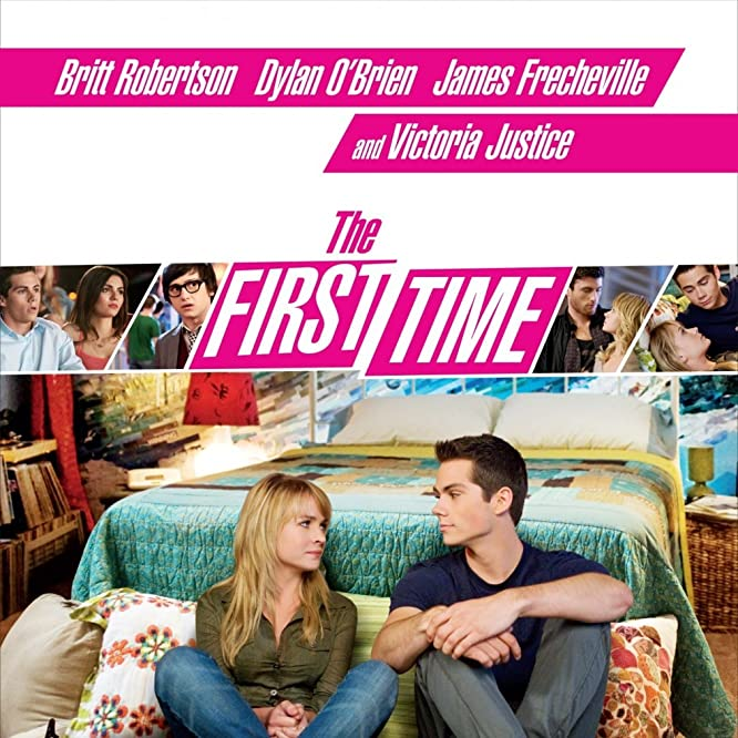 Britt Robertson and Dylan O'Brien in The First Time (2012)