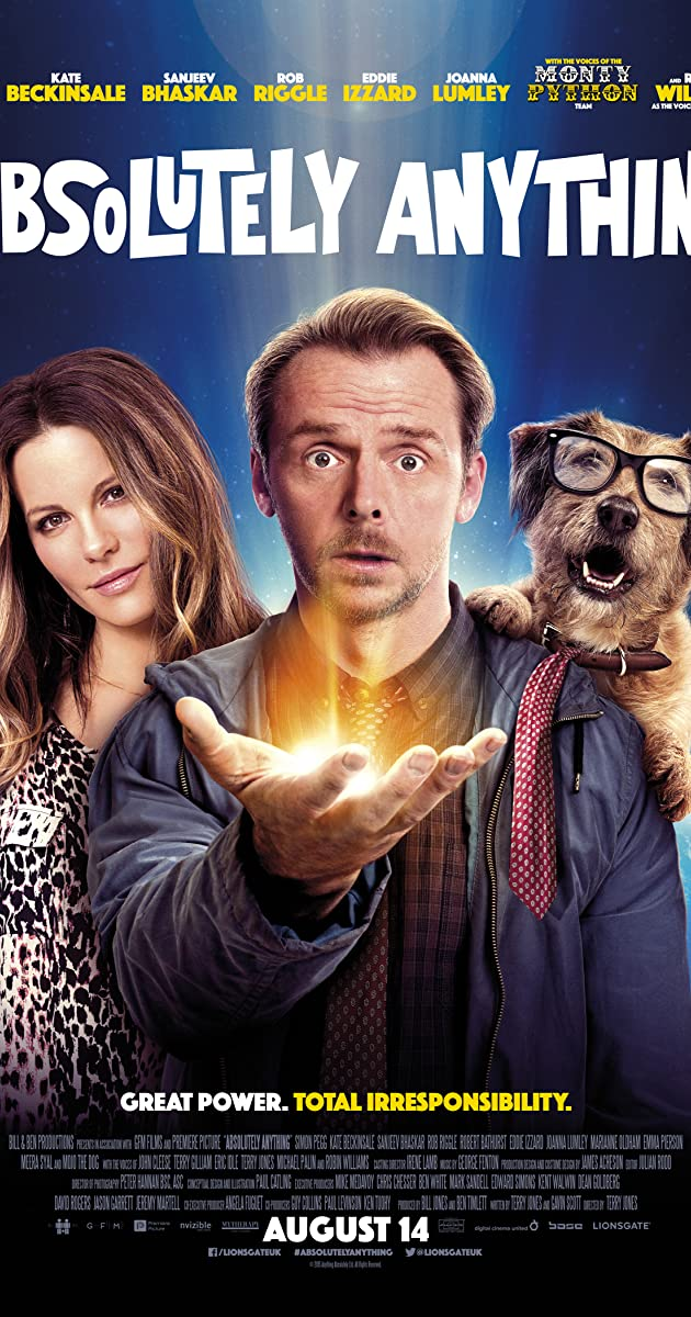 Viskas, ko tu nori / Absolutely Anything (2015) Online