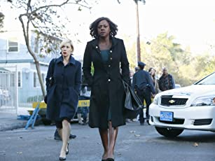 Viola Davis and Liza Weil in How to Get Away with Murder (2014)