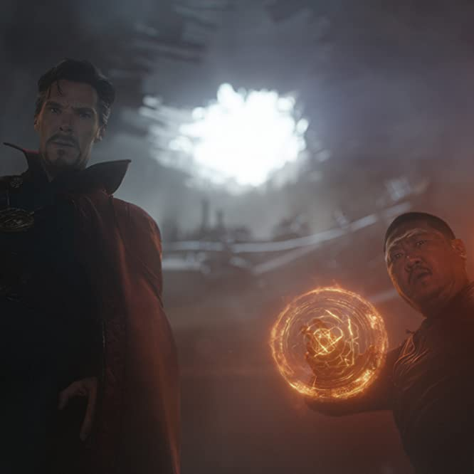 Benedict Wong and Benedict Cumberbatch in Avengers: Infinity War (2018)