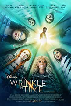 Reese Witherspoon, Oprah Winfrey, Mindy Kaling, Chris Pine, and Storm Reid in A Wrinkle in Time (2018)