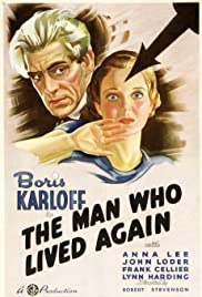 The Man Who Lived Again Poster