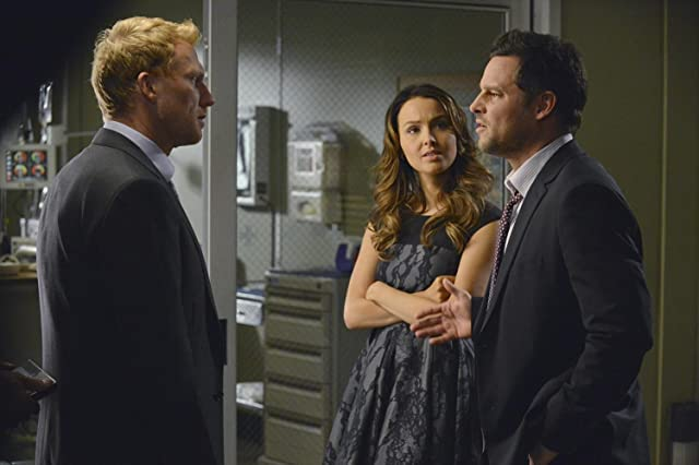 Justin Chambers, Kevin McKidd, and Camilla Luddington in Grey's Anatomy (2005)
