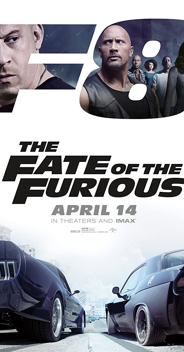 Greiti ir įsiutę 8 / The Fate of the Furious (2017) Online