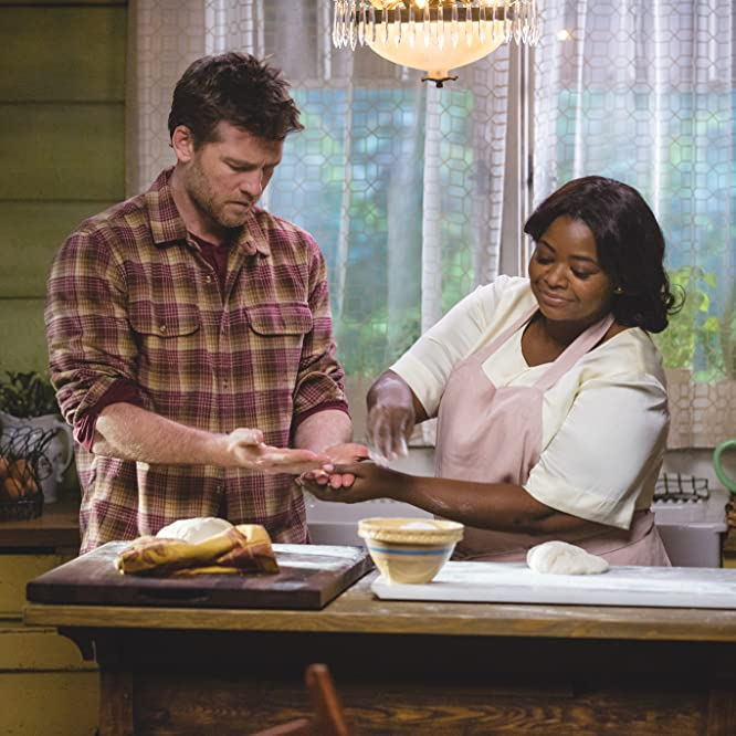 Octavia Spencer and Sam Worthington in The Shack (2017)