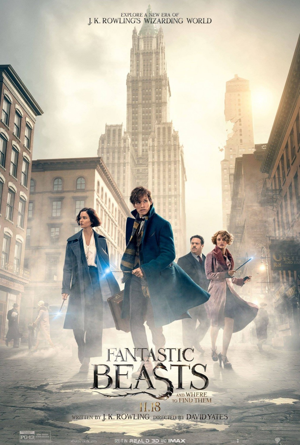 Fantastic Beasts and Where to Find Them(2016) - Cartelera