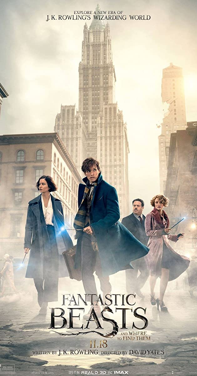 Fantastiniai gyvūnai ir kur juos rasti / Fantastic Beasts And Where To Find Them (2016) Online