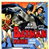 Jane Adams, Johnny Duncan, and Robert Lowery in Batman and Robin (1949)