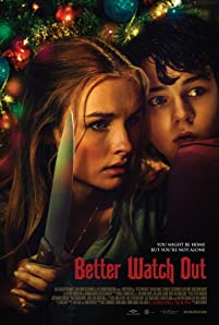 Babysitter Ashley (Olivia DeJonge) must defend her young charges (Levi Miller, Ed Oxenbould ) when intruders break into the house one snowy night -- or so she thinks.