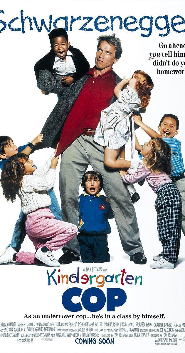 Vaikų darželio policininkas / Kindergarten Cop (1990) Online