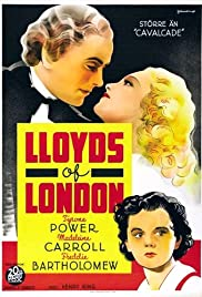 Lloyd's of London (1936) Poster - Movie Forum, Cast, Reviews