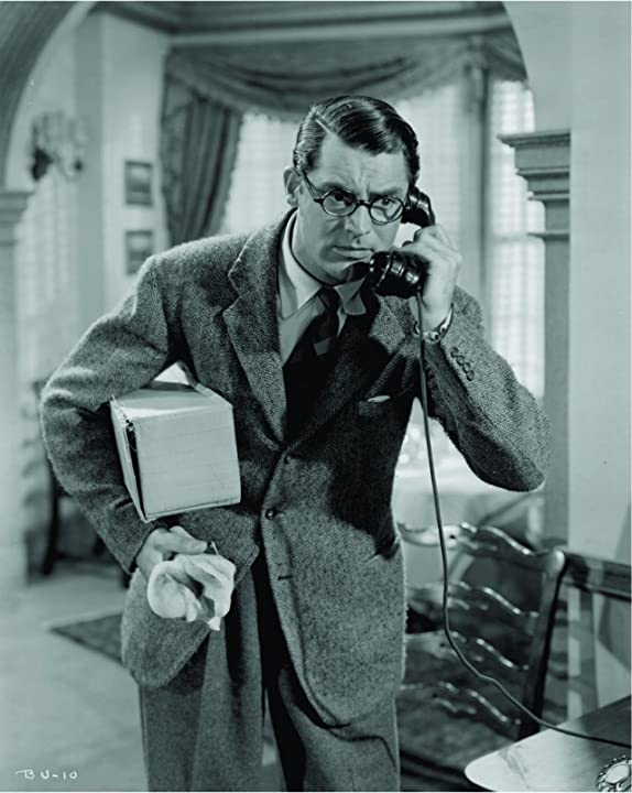 Cary Grant in Bringing Up Baby (1938)