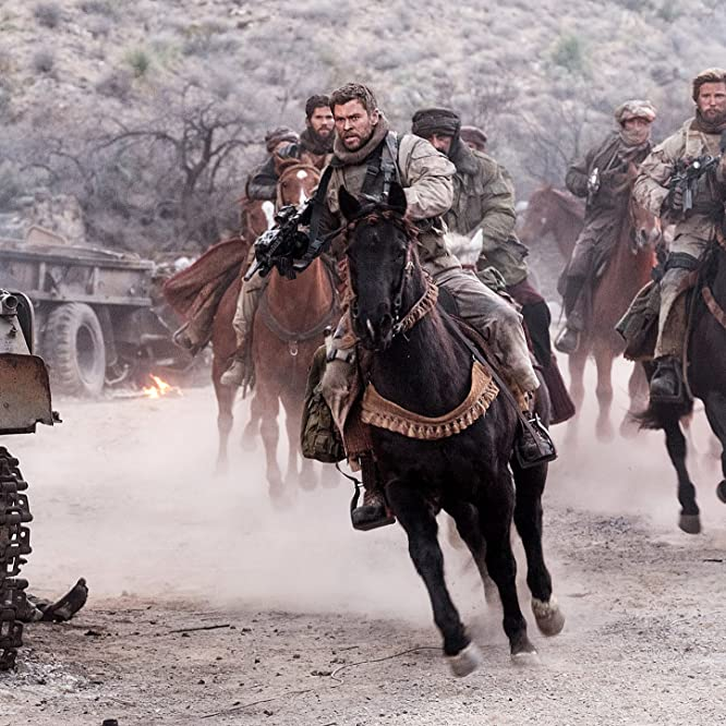 Chris Hemsworth in Horse Soldiers (2018)