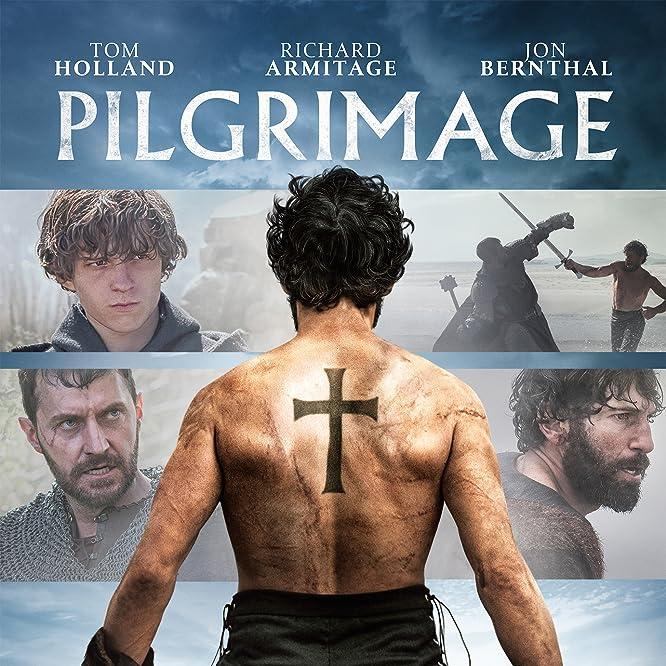 Richard Armitage, Jon Bernthal, and Tom Holland in Pilgrimage (2017)